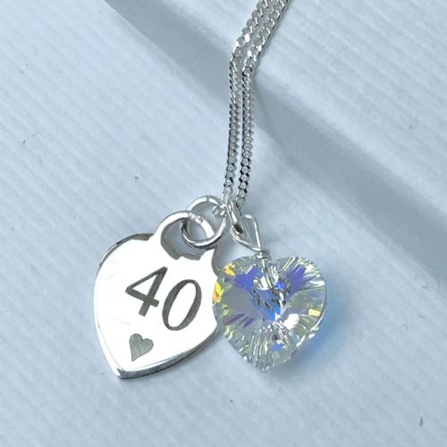 40th birthday personalised gift - FREE ENGRAVING